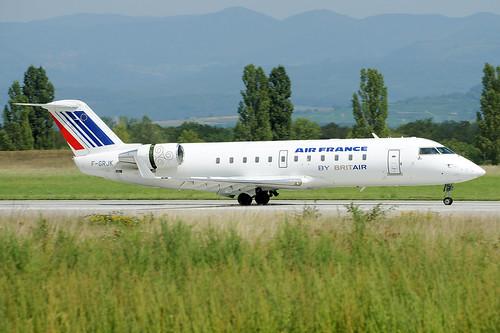 F-GRJK (cn 7219) Canadair CL-600-2B19 Regional Jet CRJ-100ER Air France (Brit Air)