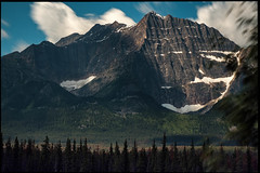 Cirque (greenschist) Tags: alberta mountains canada clouds cirque jaspernationalpark forest