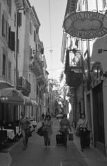Leaving Verona (Lyubomir Grigorov Photography) Tags: blackandwhite agfa apx street