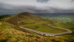 Round the bends... (Lee Harris Photography) Tags: landscape road hill hills peaks peakdistrict derbyshire uk cloud clouds nikond7200 wideangle contrast colourful landscapes outdoor light