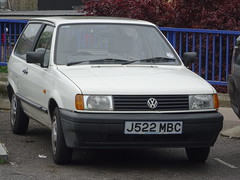 1991 Volkswagen Polo Hatch CL (Neil's classics) Tags: vehicle 1991 volkswagen polo hatch cl vw 1272cc wagon car