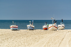 (Richter.V) Tags: stenbjergstrand fischerboote sand strand meer nordsee boote holz