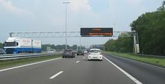 A1 Maastricht volg Arnhem (European Roads) Tags: a1 a50 ecoduct terlet drip vms