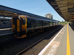 150265 Plymouth (3) (Marky7890) Tags: gwr 150265 class150 sprinter 2g67 plymouth railway devon devonmainline train