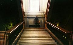 (Victoria Yarlikova) Tags: stairs abstract film analog 35mm grain dust smallformat torino palazzocisterna pellicola darkroom epsonv700 scanfromnegative retro vintage filmcamera zenit122 lacittàmetropolitanaditorinovistadavoi