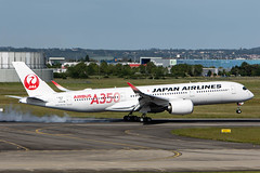 New Airbus member (nxgphotos) Tags: ja01xj airbusa350 japanairlines toulouse tls fwzhf