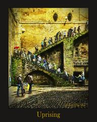 The Uprising (WayneToTheMax) Tags: stairs rise up uprising brick stone moss cobblestone