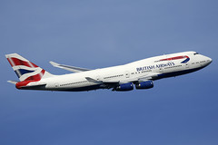 G-CIVJ British Airways Boeing 747-436 departing London Heathrow on 13 May 2019 (Zone 49 Photography) Tags: aircraft airliner aeroplane may 2019 london england egll lhr heathrow airport ba baw british airways boeing 747 436 gcivj