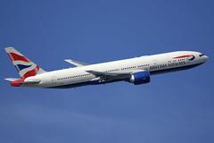 G-VIIM British Airways Boeing 777-236(ER) departing London Heathrow on 13 May 2019 (Zone 49 Photography) Tags: aircraft airliner aeroplane may 2019 london england egll lhr heathrow airport ba baw british airways boeing 777 236 er gviim