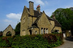 [75017] Chesterfield Cemetery Lodge (Budby) Tags: chesterfield cemetery victorian lodge gatehouse