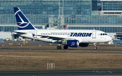 ROT_A318_YRASB_FRA_FEB2019 (Yannick VP) Tags: civil commercial passenger pax transport aircraft airplane aeroplane jet jetliner airliner ro rot tarom romanian airlines airbus a318 318100 yrasb traianvuia frankfurt rheinmain airport fra eddf germany de europe eu february 2019 aviation photography planespotting airplanespotting