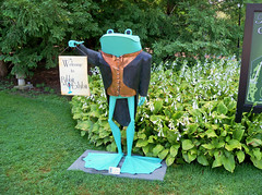 OH Mansfield - Ribbit The Exhibit (scottamus) Tags: mansfield ohio richlandcounty sculpture statue frogs kingwoodcentergardens ribbittheexhibit
