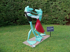 OH Mansfield - Ribbit The Exhibit 5 (scottamus) Tags: mansfield ohio richlandcounty sculpture statue frogs kingwoodcentergardens ribbittheexhibit