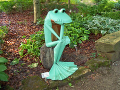OH Mansfield - Ribbit The Exhibit 3 (scottamus) Tags: mansfield ohio richlandcounty sculpture statue frogs kingwoodcentergardens ribbittheexhibit