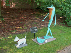 OH Mansfield - Ribbit The Exhibit 2 (scottamus) Tags: mansfield ohio richlandcounty sculpture statue frogs kingwoodcentergardens ribbittheexhibit