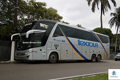 Tex Tour - 2018 (RV Photos) Tags: bus onibus trucado turismo br116 rodoviapresidentedutra marcopolo marcopolog7 paradiso1600ld textour mercedesbenz