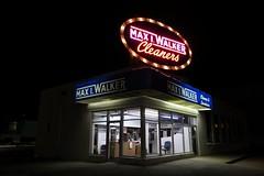 Max I. Walker Cleaners, Omaha, NE (Robby Virus) Tags: omaha nebraska ne max walker dry cleaners cleaning laundry wash washing sign signage