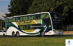 WJ Brasil Turismo - 2018 (RV Photos) Tags: bus onibus doubledecker turismo br116 rodoviapresidentedutra wjbrasilturismo busscar volvo visstabussdd
