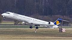 "Lufthansa Bombardier CRJ-900LR D-ACKL ""Bad Bergzabern"" Munich (MUC/EDDM) (Aiel) Tags: lufthansa bombardier crj crj900 crj900lr dackl badbergzabern munich canon60d sigma60600"