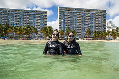 _DSC0112 (Shane Woodall) Tags: 24mm beach ella islaverde lily puertorico shanewoodallphotography sonyrx0ii twins vacation water