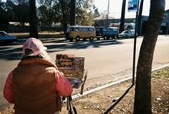 FH000005 (dannonseo) Tags: disposable dispposablecamera 35mm fujifilm quicksnap filmphotography filmisnotdead kombi baywindow volkswagen bus painter