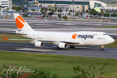 Magma Aviation Boeing 747-481(BC F)  Landing in San Juan | TF-AMP #aviation #boeing #planespotter https://youtu.be/sgWvQZuPIr0 (Hector A Rivera Valentin) Tags: