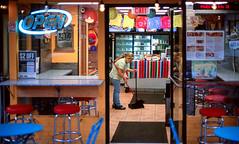 Open Late on Columbia Ave. (Packing-Light) Tags: 35mm fujichrome nikonf6 provia provia100 rdpiii analog chrome film slide transparency washington dc restaurant night mexican food street