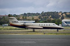 1984 Gates Lear Jet 35 N435MS c/n 054 departing Buchanan Field Concord California 2019. (17crossfeed) Tags: learjet gates n435ms 054 buchananfield concordairport 35 airport aviation aircraft airplane pilot planes planespotting plane flying flight 17crossfeed claytoneddy gulfstream landing tower takeoff taxi