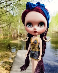 We have had such a beautiful weather this weekend 🌞💙😍 .  #blythe #customblythe #blythecustom #crochet #crochetdollclothes #blytheclothes #blytheoutfit #dollclothes #blytheswimsuit #blytheswimwea (Dolliina) Tags: blytheclothes blytheoutfit blythe blythecustom crochet customblythe crochetdollclothes blytheswimsuit dollclothes blytheswimwea