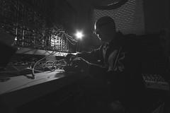 Count To 5 (Braulio Lam) Tags: canon canonphotography canon6d canonfd canonfl 55mm 20mm 14mm blackwhite blackandwhite photography session ramónamezcua bostich norteccollective nortec electronic emmanuellubezki emmanuellubezkistyle eurorackmodules montrealassembly counttofive richardchartier music longexposure