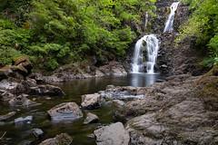 Rha Waterfalls (Stefan Napierala) Tags: stefannapierala controluce isleofskye schottland scozia scotland uig rhawaterfalls cascate wasserfälle waterfalls trotternish highlands