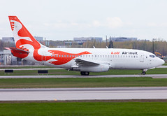 C-GAIG Air Inuit B732 (twomphotos) Tags: bestofspotting plane spotting yul cyul departure rwy06r 24l boeing b732 air inuit