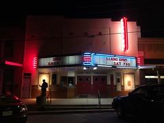 Lan-Tex Theatre, 1927 (jericl cat) Tags: lantex theatre llano texas neon marquee 1927