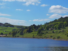 Remains of Ashopton village, Ladybower Reservoir        May  2019 (dave_attrill) Tags: ladybower reservoir ashopton village remains ruins peakdistrict nationalpark hopevalley derbyshire may 2019