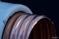 Copper (Digifred.nl) Tags: macromondays copper digifred 2019 makingof nederland netherlands pentaxk5 hmm macro macrophotography closeup fuseholder koper zekeringhouder
