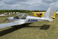 G-CEHL Evektor EV-97 Eurostar (graham19492000) Tags: pophamairfield gcehl evektor ev97 eurostar