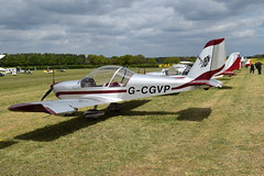 G-CGVP Evektor EV-97 Eurostar (graham19492000) Tags: pophamairfield gcgvp evektor ev97 eurostar