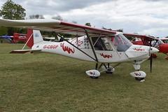 G-CBGP Ikarus Comco C-42 (graham19492000) Tags: pophamairfield gcbgp ikarus comco c42