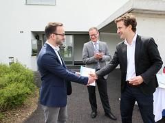 Auszeichnung MQS Bau (Minergie Schweiz) Tags: diessenhofen thurgau switzerland