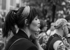 woman (BenoitGEETS-Photography) Tags: pride bruxelles brussels nikon 2470 d610 tamron blackandwhite noiretblanc bw bn