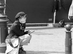 Pensive (BenoitGEETS-Photography) Tags: pensive pride bruxelles brussels nikon 2470 d610 tamron blackandwhite noiretblanc bw bn