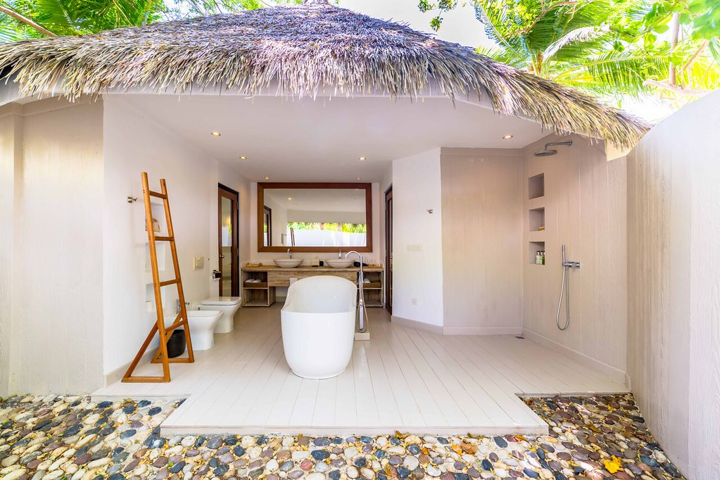 Sunset Prestige Pavilion Beach Villa - Bathroom