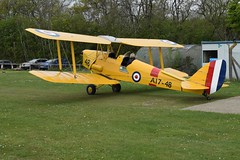 G-BPHR (A-17-48) DH-82A Tiger Moth (graham19492000) Tags: pophamairfield gbphr a1748 dh82a tigermoth
