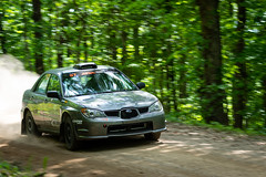 #67 Schrage-Usher 2007 SubaruImpreza-1 (rickstratman26) Tags: car cars rallycar racecar racecars subaru impreza rally motorsport motorsports southern ohio forest sofr panning
