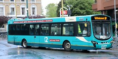 Arriva The Shires 3769 LT63UNN working Rail Replacement at Watford Junction Station. (Gobbiner) Tags: b7rle wrightbus arrivatheshires lt63unn watfordjunction volvo 3769 arrivabuscouk railreplacement eclipseurban