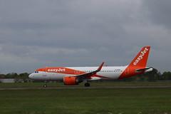 easyJet G-UZHO BFS 20/05/19 (ethana23) Tags: planes aviation aircraft airplane aeroplane avgeek planespotting easyjet airbus a320 a320neo