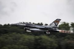 Roarrrr of the Tiger... (BadGunman) Tags: 6dmarkii canon sexy afterburner pc otan fightertown montdemarsan tiger sidewinder aim9 aviation f16 tigermeet nato ntm2019