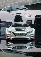 NYIAS - Nissan (MediaGamut) Tags: nyias cars automotive newyorkautoshow nissanleafnismorc nissan