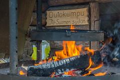 Outokumpu - Finland (Sami Niemeläinen (instagram: santtujns)) Tags: outokumpu suomi finland luonto nature särkisalmi outdoors pohjoiskarjala north carelia metsä forest tuli fire laavu