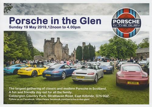 Porsche in the Glen leaflet